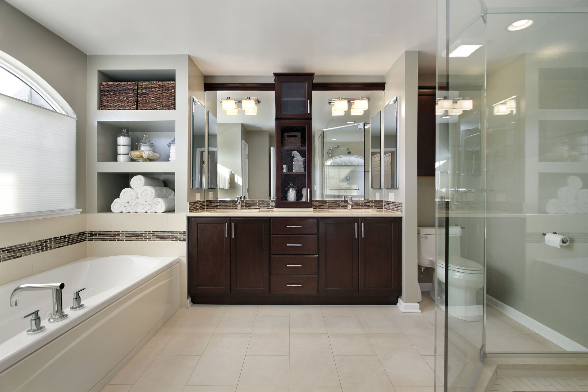 Bathrooms NuWood Cabinets - Bathroom stores milwaukee