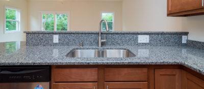 Cherry Kitchen Cabinets, Granite Countertops